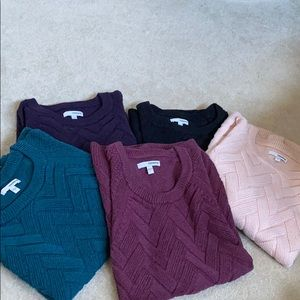 BUNDLE of Sonoma Sweaters Size S